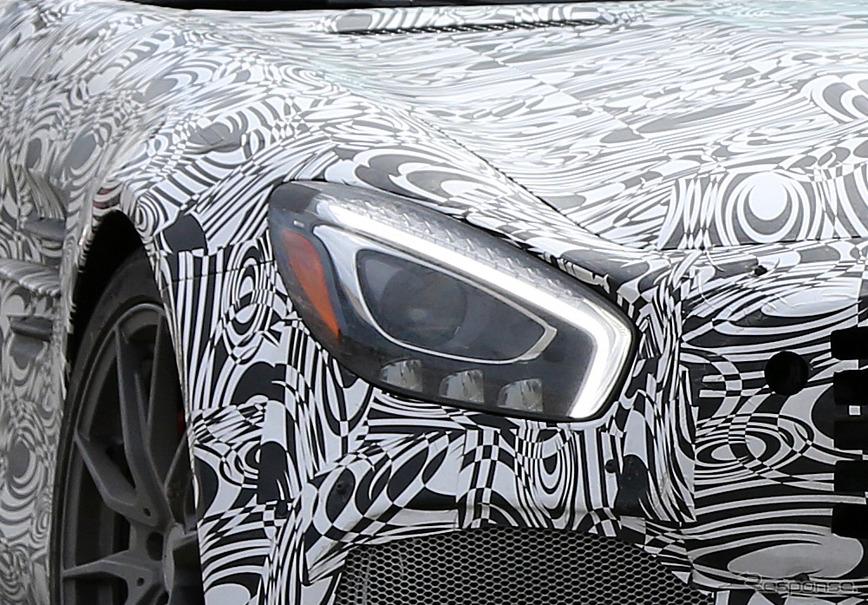 メルセデス AMG GT-Rスクープ写真