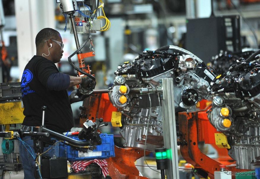 フォードモーターの米国クリーブランドのエンジン工場
