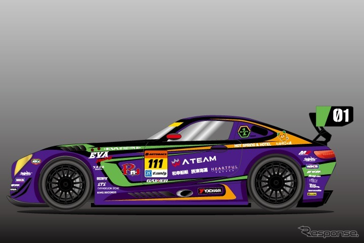 エヴァRT初号機 Rn-s AMG GT