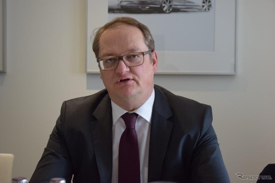 フォルクスワーゲンAG e-モビリティ 担当責任者 トーマス・リーバー氏