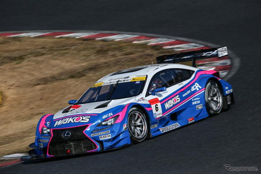#6 レクサスRC F (GT500クラス)