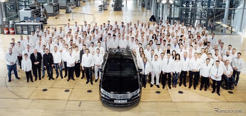 フォルクスワーゲンの独工場でフェートンの生産が終了