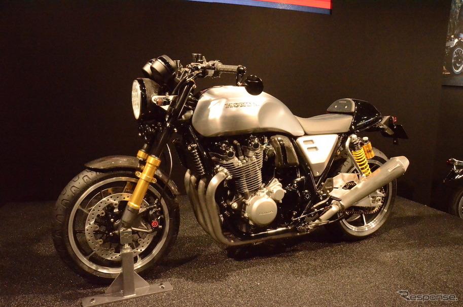 大阪モーターサイクルショーで世界初披露となったホンダ Concept CB Type II。