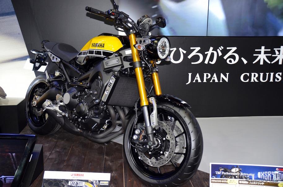 大阪モーターサイクルショーで本邦初公開されたXSR900 60th Anniversary。