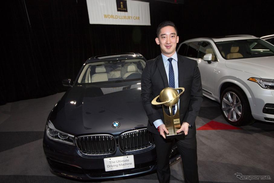 2016ワールドラグジュアリーカー賞に輝いた新型BMW7シリーズ(ニューヨークモーターショー16)