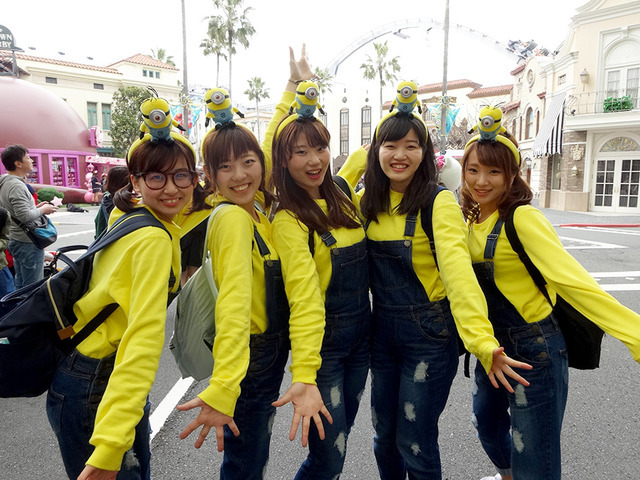 若者に流行中の「グループ仮装」でUSJが一年中ハロウィン状態