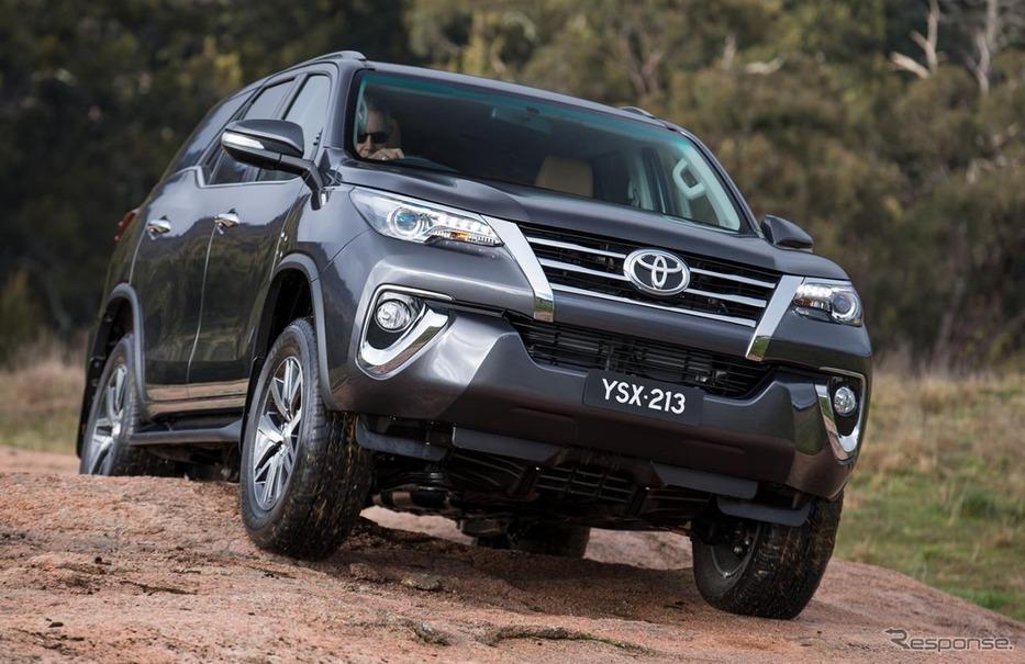 トヨタ、新型 ハイラックス と フォーチュナー 生産開始 南アフリカ レスポンス(response Jp)