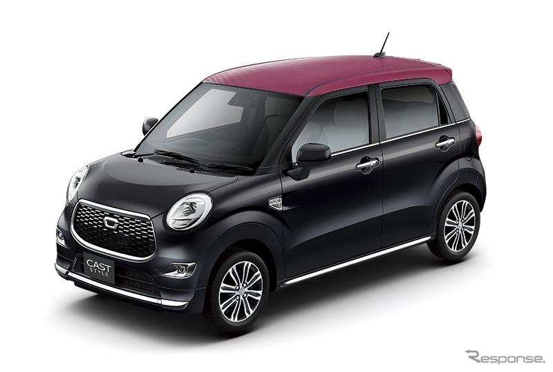 ダイハツ キャスト、内外装カラーバリエーション拡充…特別仕様車も ...