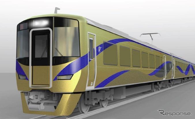 大阪に「金ピカ電車」…泉北ライナー特急列車へ 来年2月から ...