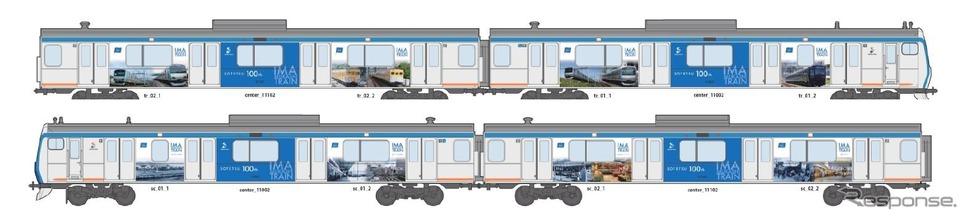 相鉄グループの電車・バス、創立...