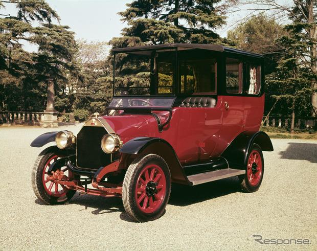 日本初の量産乗用車「三菱A型」...