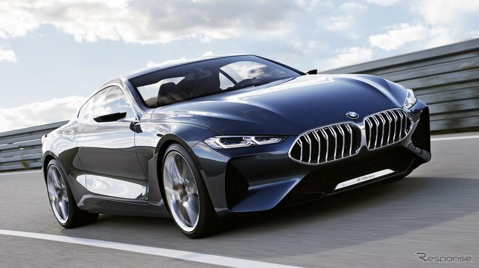 BMWの最上級クーペ再来…コンセプ...