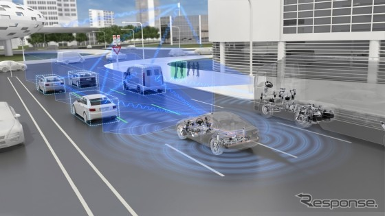ZF、最新の自動運転技術を発表…...