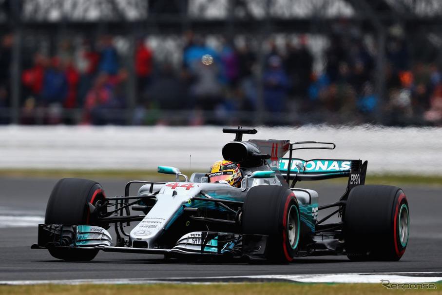 F1 イギリスGP】ハミルトンが母...