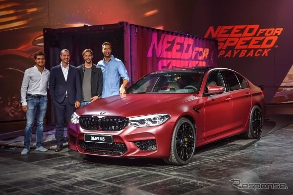 「Need for Speed Payback」に起用される新型BMW M5