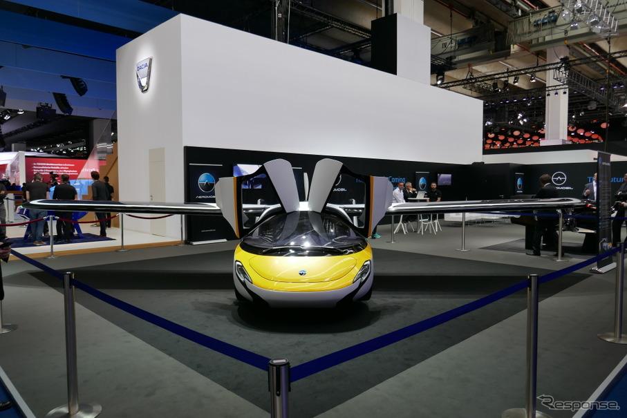 東京 モーター ショー 空 飛ぶ 車