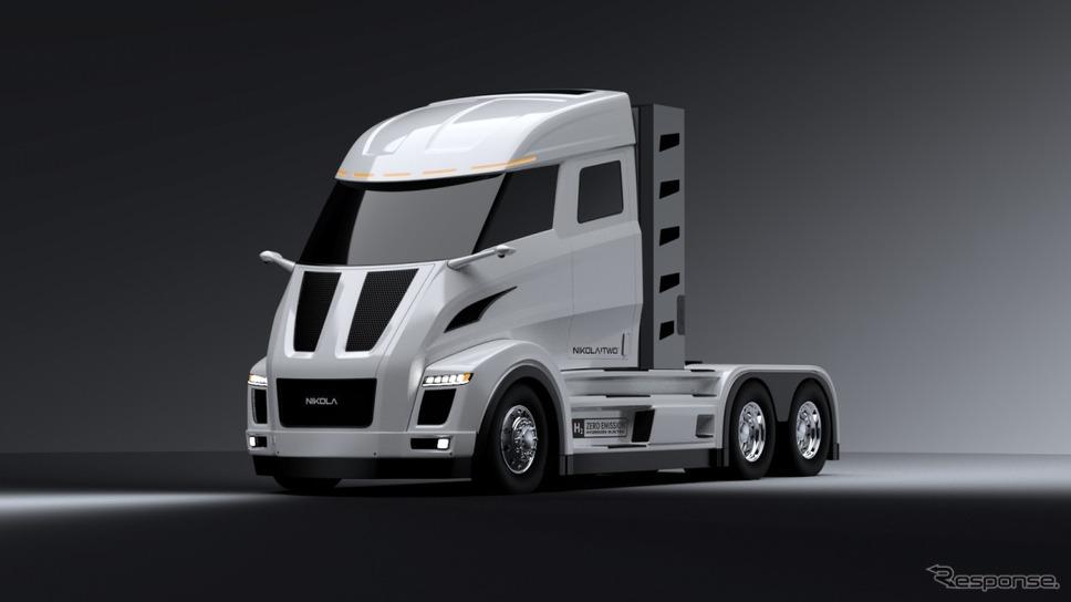 ボッシュと米ニコラが共同開発する燃料電池EVトラック