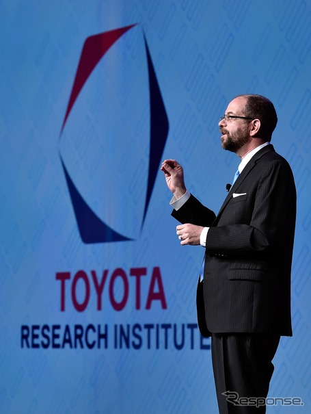 「TOYOTA RESEARCH INSTITUTE, INC.(TRI)」CEOのギル・プラット博士(CES 2016)