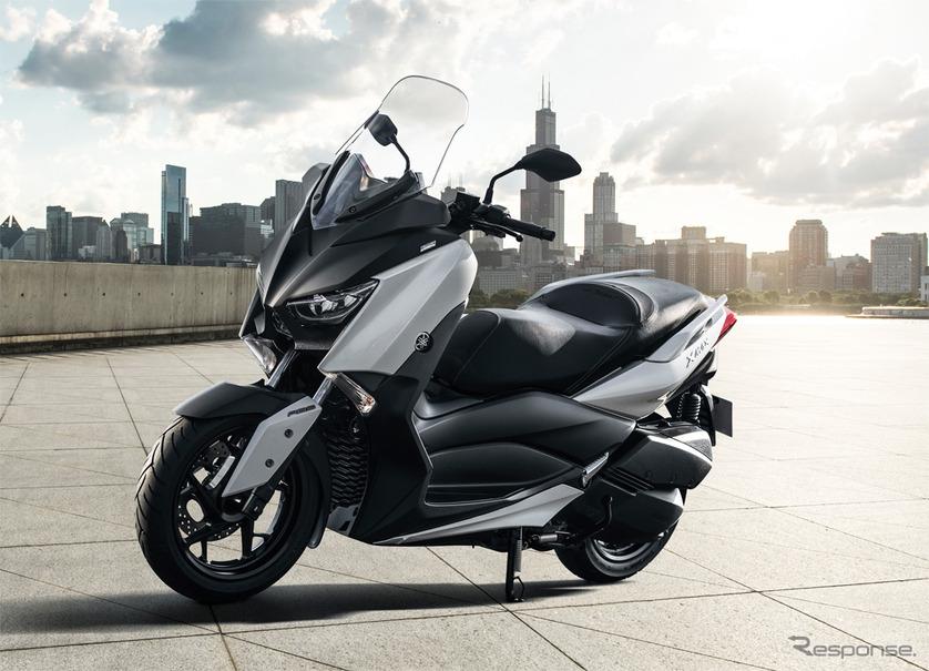 ヤマハ発動機 軽二輪スポーツスクーター xmax abs の日本導入を発表