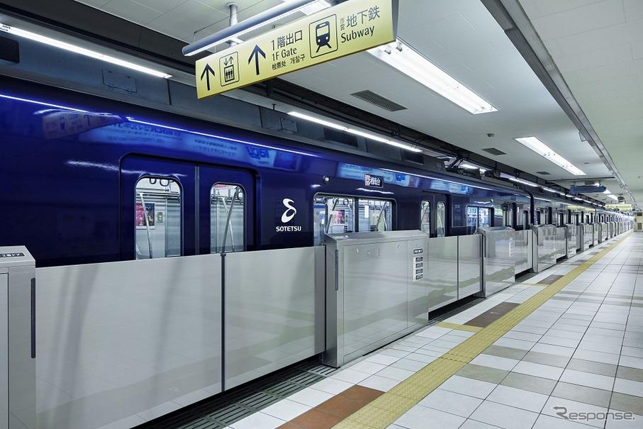 全25駅にホームドア…相鉄、2022...