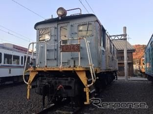 近江鉄道の古典機関車、12月16日...