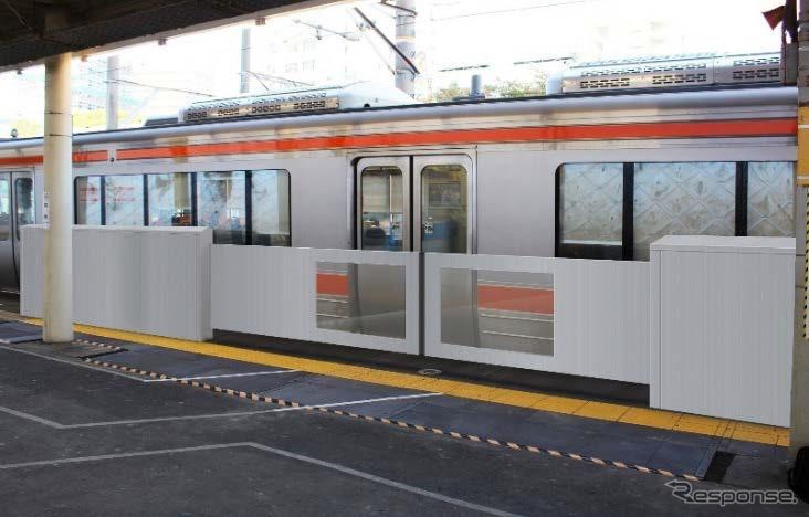 「ホームドア 東海道線」の画像検索結果