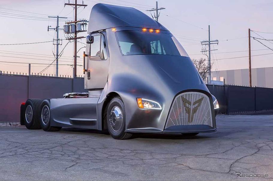 トール・トラック社の新型EVトラック、ET-One
