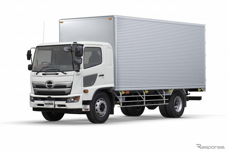 日野、大型トラック顧客満足度で9年連続トップ…小型も4年連続 ...