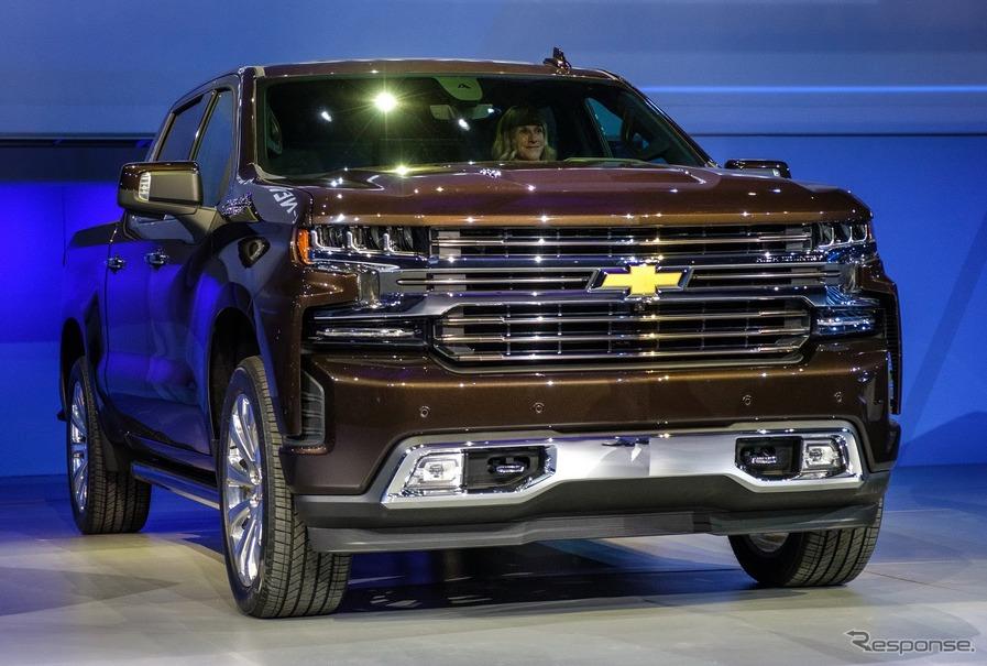 GMの米国最量販車 シルバラード に新型、最大200kg軽量化…デトロイトモーターショー2018 | レスポンス ...