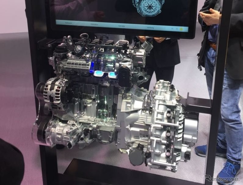 ルノーの新1.3リットル直列4気筒ガソリンターボ(ジュネーブモーターショー2018)