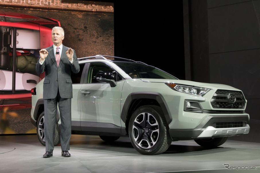 2018 Toyota Rav4 >> トヨタ RAV4 新型に冒険仕様「アドベンチャー」設定…ニューヨークモーターショー2018 | レスポンス(Response.jp)