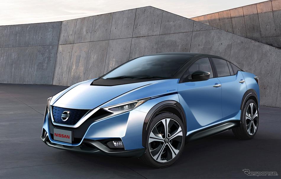 日産初の電動SUV「iMX」、市販化は2020年か…航続500km超へ | レスポンス(Response.jp)