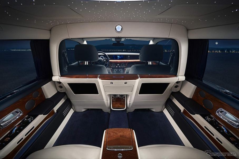 ボタン操作で仕切りガラスの色が変化、後席乗員のプライバシーを守る ロールスロイスの新技術 レスポンス