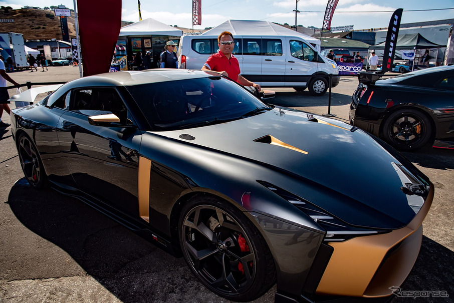 「1億円の日産 GT-R」に奇跡の試乗! わずか2周のラグナセカでわかったこと   レスポンス(Response.jp)