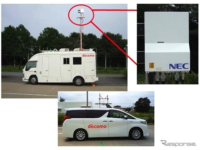 超素子アンテナ搭載の5G移動局と高速移動する自動車の間での高品質通信 ...
