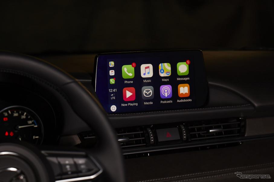 米マツダ、Apple「CarPlay」に後...