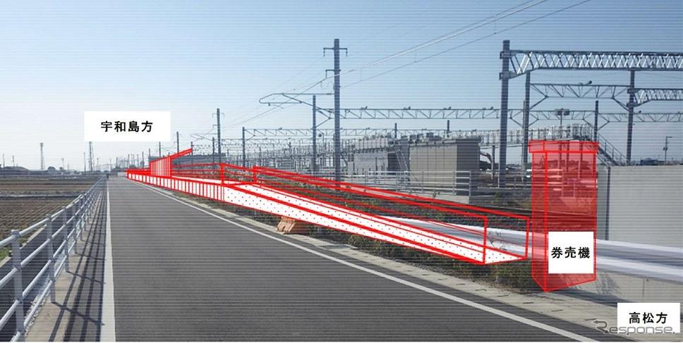 予讃線にJR四国5番目の新駅「南...
