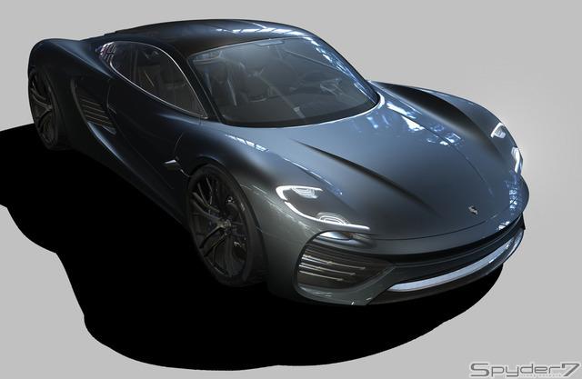 ポルシェ 水平対向8気筒スポーツカー 988 を開発中 レスポンス