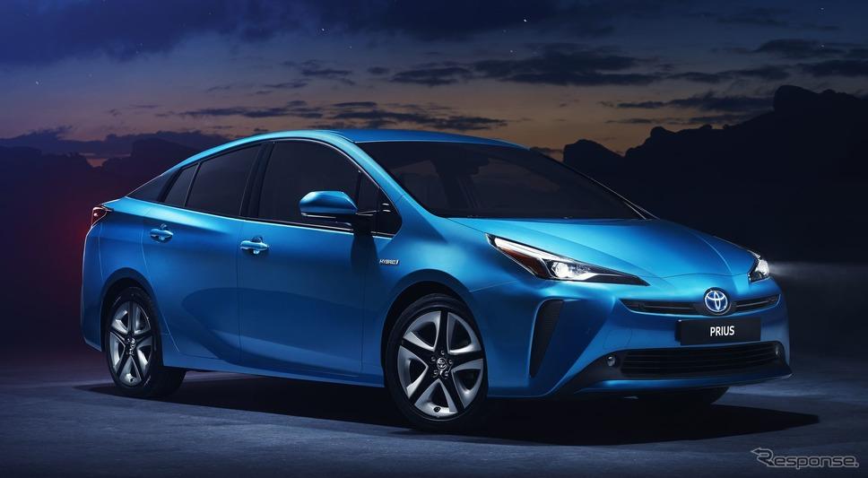 トヨタ プリウス、WLTP燃費は24.4km/リットル…2019年型を欧州で発表 ...