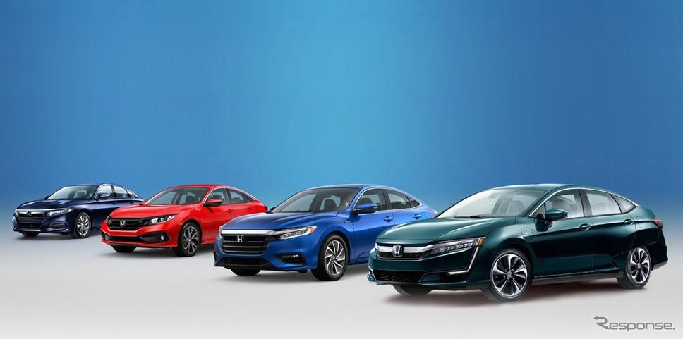 米ホンダが個人向け乗用車販売で初の最量販ブランドに…シビック と電動 ...
