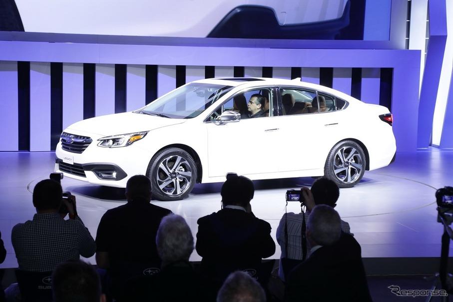 【自動車】スバル新型「レガシィ」 世界初公開。最新アイサイト搭載
