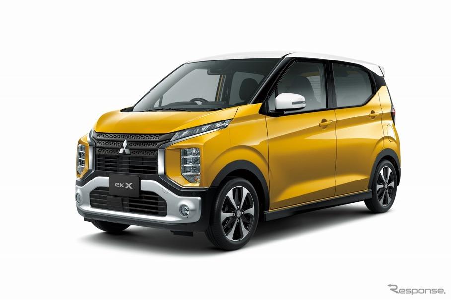 三菱、新型軽自動車 eKワゴン/eK...