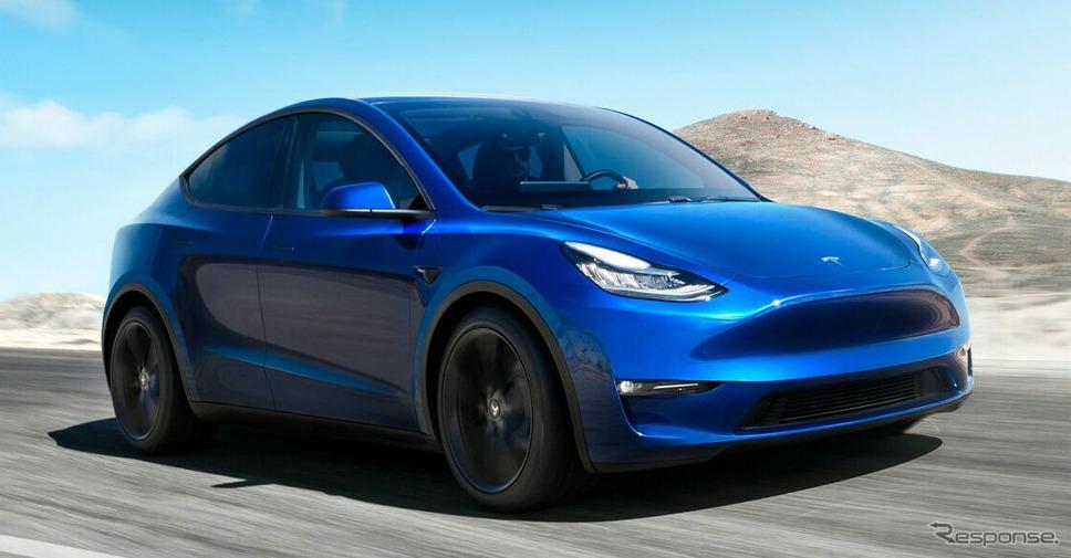 【EV】テスラが電動コンパクトSUV、『モデルY』発表…航続483kmは電動SUV最長