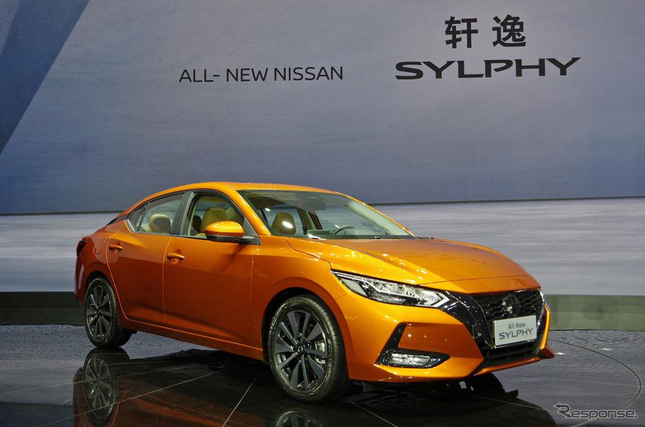 日産 シルフィ 新型、スポーティに変身…上海モーターショー2019 ...