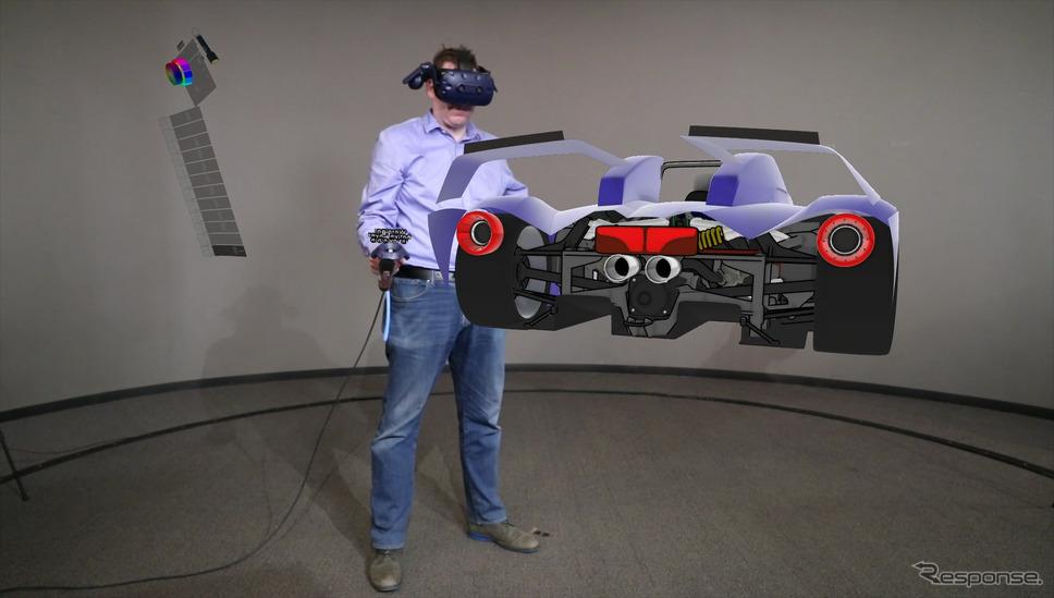 フォードモーターが3DのVRツールを世界規模で導入し空間に線を描いて車両をデザイン