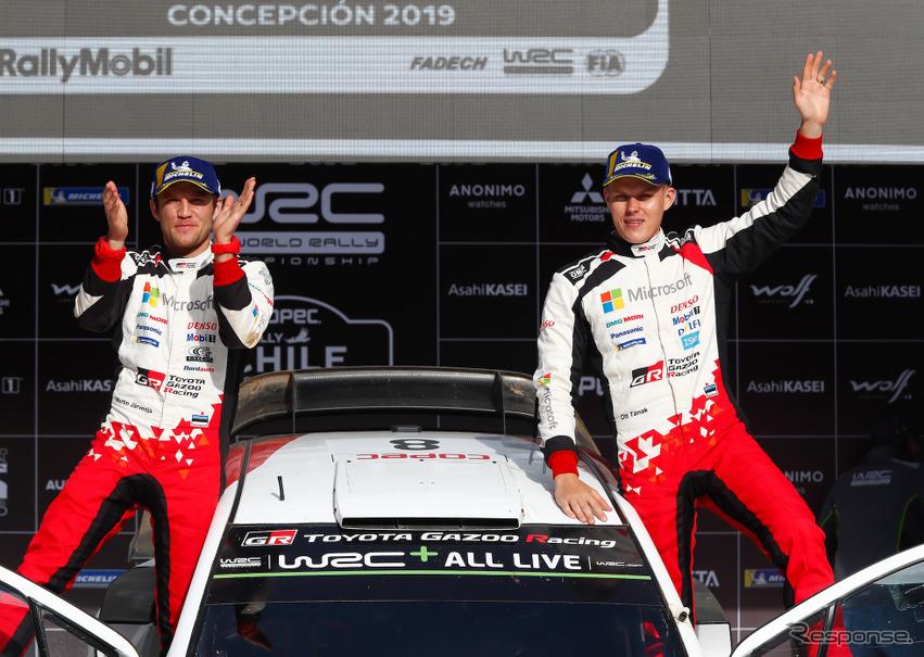WRC 第6戦】初開催のチリでトヨ...