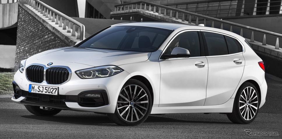 BMW 1シリーズ 新型を発表、歴代初のFF駆動に…室内空間が拡大 ...