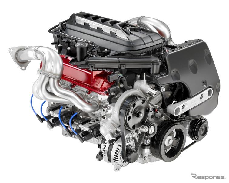 シボレー コルベット 新型、新世代6.2リットルV8エンジンを搭載 ...