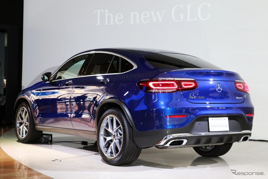 メルセデスベンツ GLCクーペ 改良新型】最新運転支援システムや