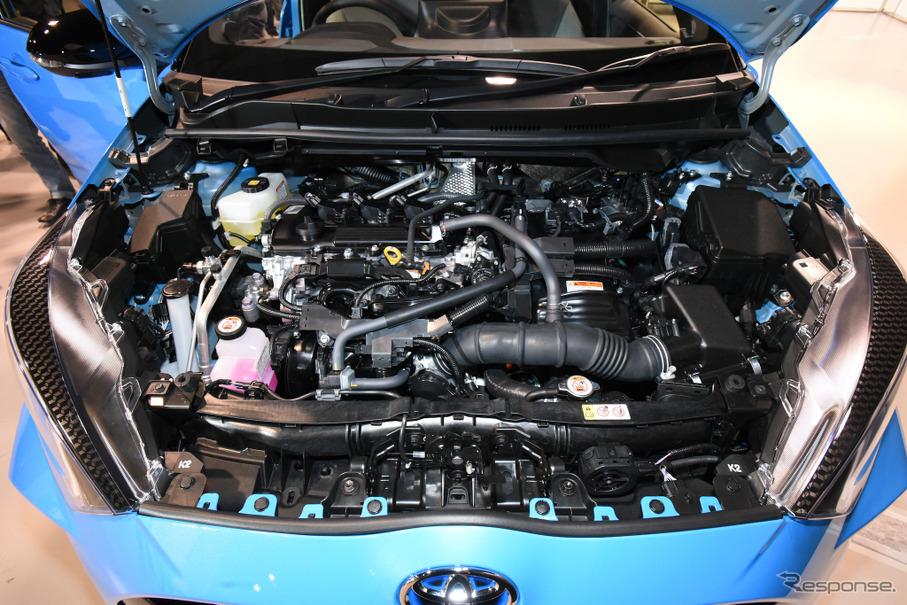 【トヨタ ヤリス 新型】ダイナミックフォース・エンジンを新開発、搭載